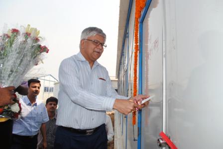 RVNL ED (Works) Arun Kumar Inaugurating ASRL Bridge Site at Bramhani River