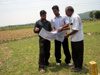 ASRL Field Inspection Team Inspecting the Government Land