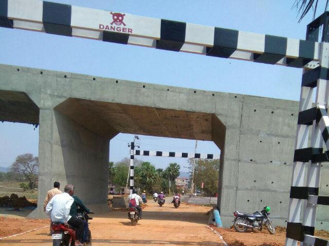 1st RUB (Road Under Bridge) commiccioned by RVNL near Kamakshyanagar on 09.03.2017